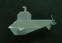 19.09.2012 00:00.  Предлагаем вашему вниманию оригами схему подводной лодки, автором которой является Robyn Glynn.