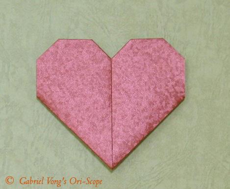 Схема оригами валентинка-сердце.  Август 22nd, 2011 Автор Origami-man.