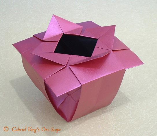 Сердце с крыльями оригами.  Видео схема.  - Схемы - Из бумаги.