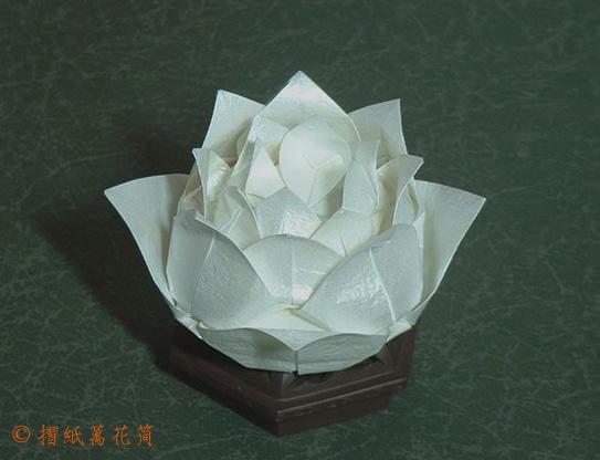 Бумажные цветы лилия оригами схема и